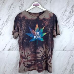 I'm Dope Psychedelic Pot Plant T-Shirt